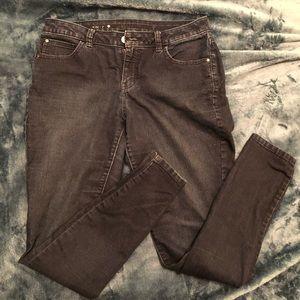 Jennifer Lopez Dark Skinny Jeans